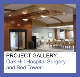 Commercial Painting Photo Gallery of Oak Hill Hospital Surgery and Bed Tower by Sourini Painting