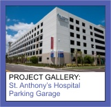 Commercial Painting Photo Gallery of St. Anthony�s Hospital Parking Garage by Sourini Painting